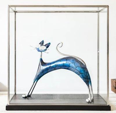 Pieza decorativa de cristal