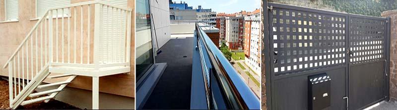 Fabricación de Puertas, barandillas y escaleras en Cantabria