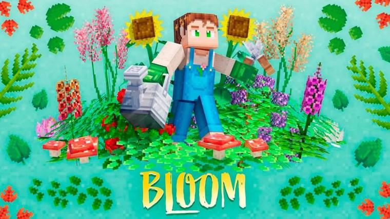 Mapa Bloom en Minecraft