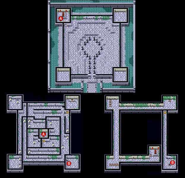 Final Fantasy I Y II Down Of Souls