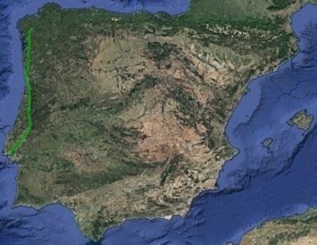 Camino Portugués Central