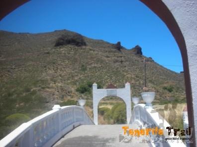 entrada zona de cruces Santiago del Teide