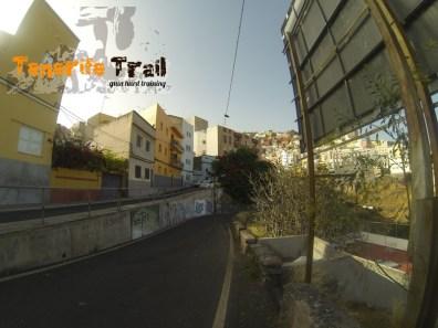 Zona del barrio de la Salud por donde se accede al barranco de Santos (lugares desconocidos de tu ciudad)