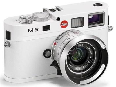 Leica M8 blanc