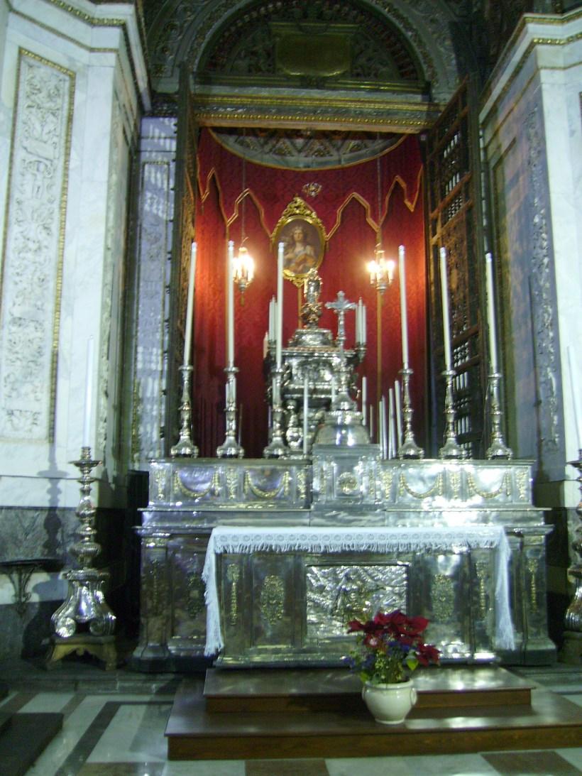 Palermo - Reliquie di Santa Rosalia