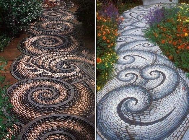 Come fare un vialetto di ghiaia in giardino guida giardino for Sassi finti per giardini