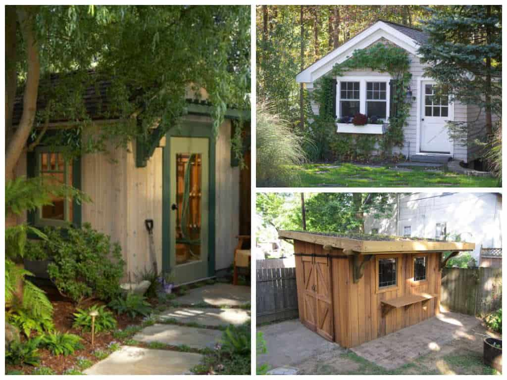 15 idee per il capanno attrezzi in giardino guida giardino for Per il giardino