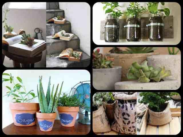 30 vasi fai da te guida giardino - Porte a basso costo ...