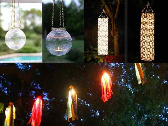 10 Idee Fai Da Te Per Illuminare Il Giardino Guida Giardino