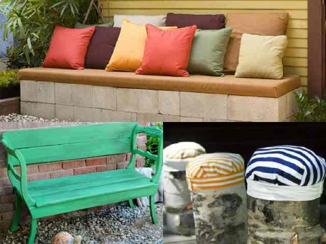 6 idee fai da te per realizzare mobili da giardino guida - Fai da te arredo giardino ...
