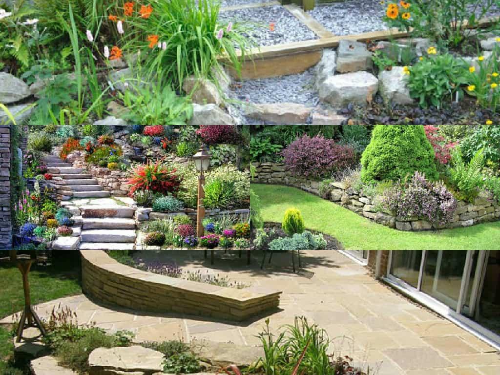 10 idee per decorare il giardino con la pietra guida for Pietre da giardino