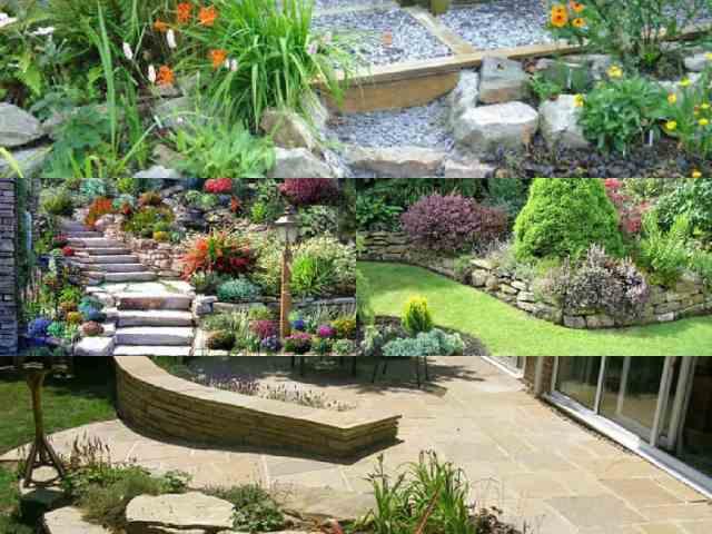 10 idee per decorare il giardino con la pietra guida - Idee per aiuole giardino ...