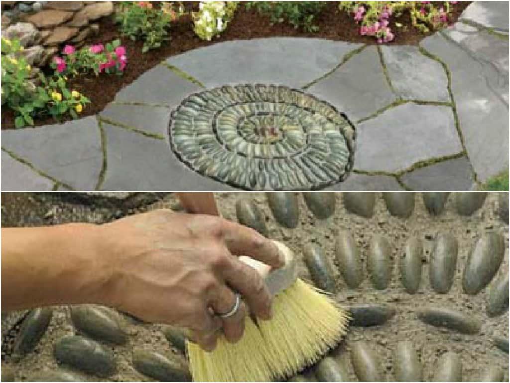 Come realizzare un mosaico nella pavimentazione della zona outdoor