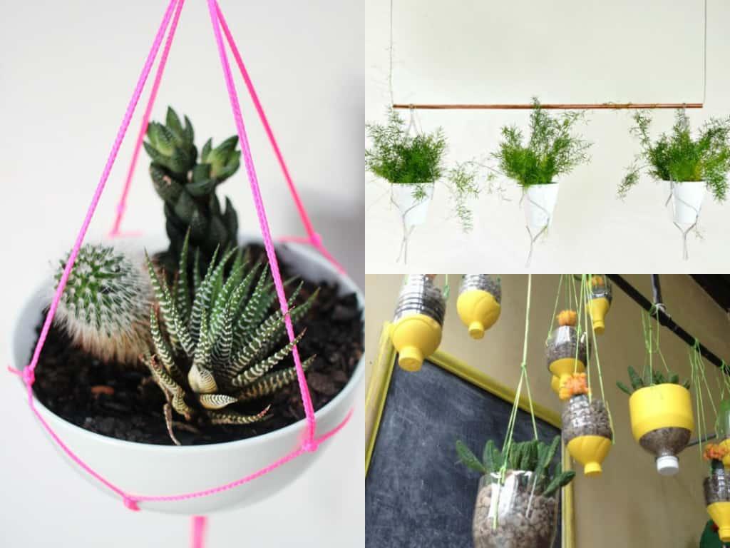 Vasi appesi 7 idee fa da te guida giardino - Oggetti per giardino ...