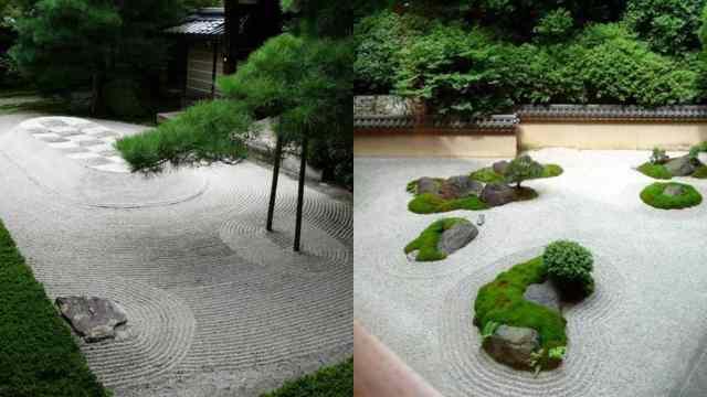 Keresansui il giardino giapponese secco guida giardino - Giardini zen da esterno ...