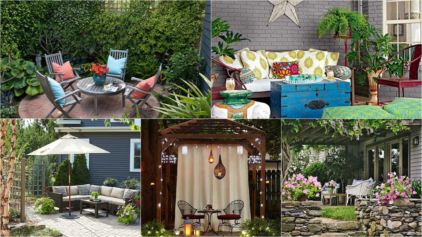 Come arredare un giardino piccolo idee per arredare un for Divanetto balcone