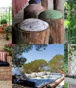 Sedersi in giardino: 11 idee per realizzare un mini angolo relax
