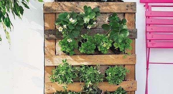 La fioriera verticale da appendere alla parete è il progetto perfetto per tutti coloro che vogliono portare un po' di verde in casa senza rinunciare allo stile unico di un elemento originale