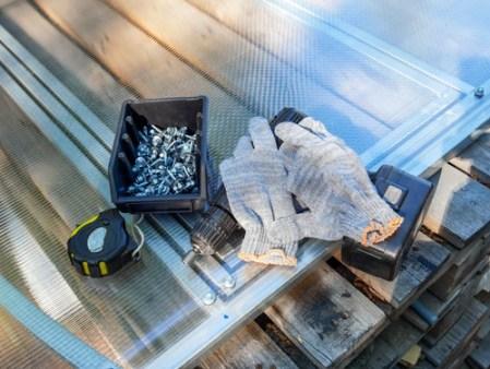materiali per la serra fai da te