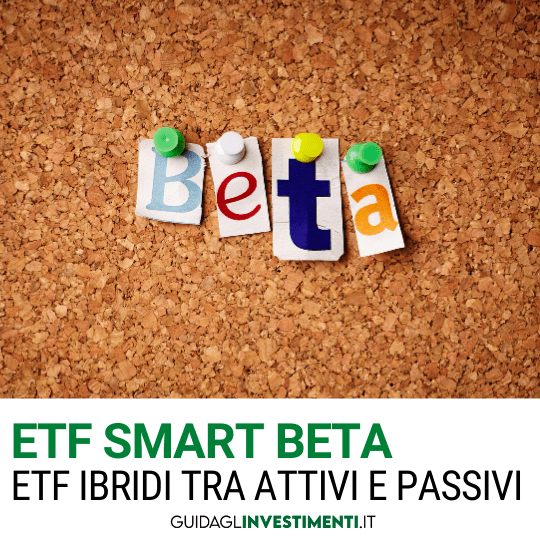 etf smart beta lavagnetta con appuntati foglietti ccon beta guidaglinvestimenti.it