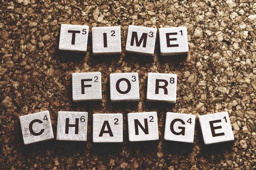 Comment s'adapter au changement de la vie?