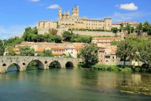 béziers france pont architecture patrimoine
