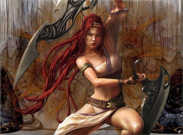 Nariko (Heavenly Sword)