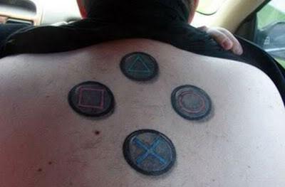 tatoo playstation