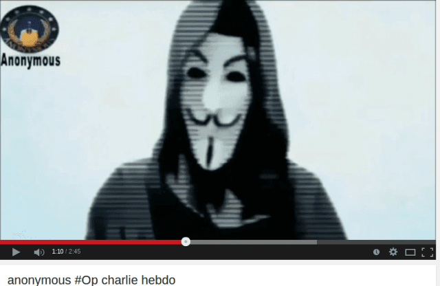 charlie hedbo anonymous