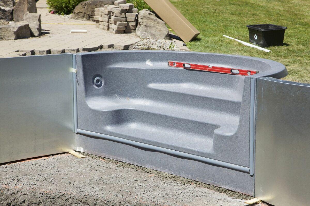 kits pour construire sa piscine