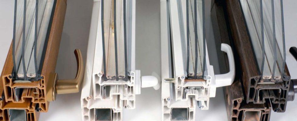 fenêtre à matériaux mixtes