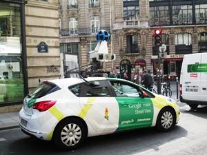 voiture google rue de clery1