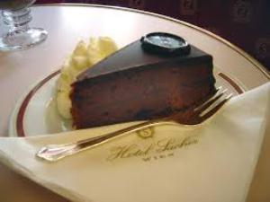 gâteau de l'Hôtel Sacher