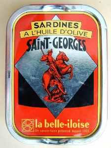 boite sardines Saint-Georges