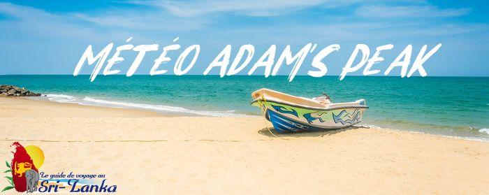 Météo sri pada - adam's peak
