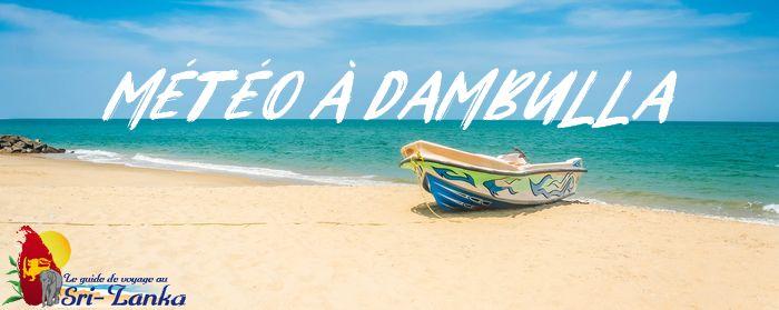 météo dambulla