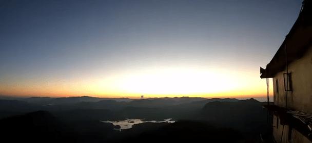 lever soleil adam's peak