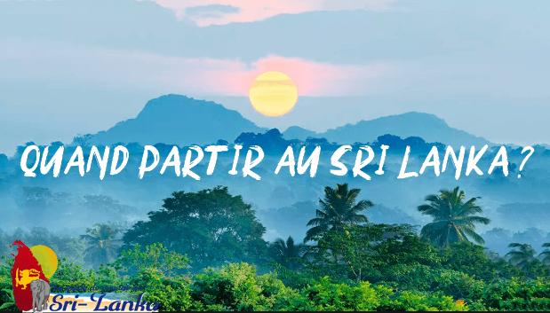 meilleure période au Sri Lanka