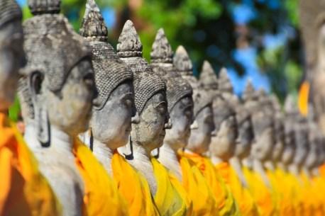 Wat Yai Chai Mongkhon in Ayuthaya province of Thailand