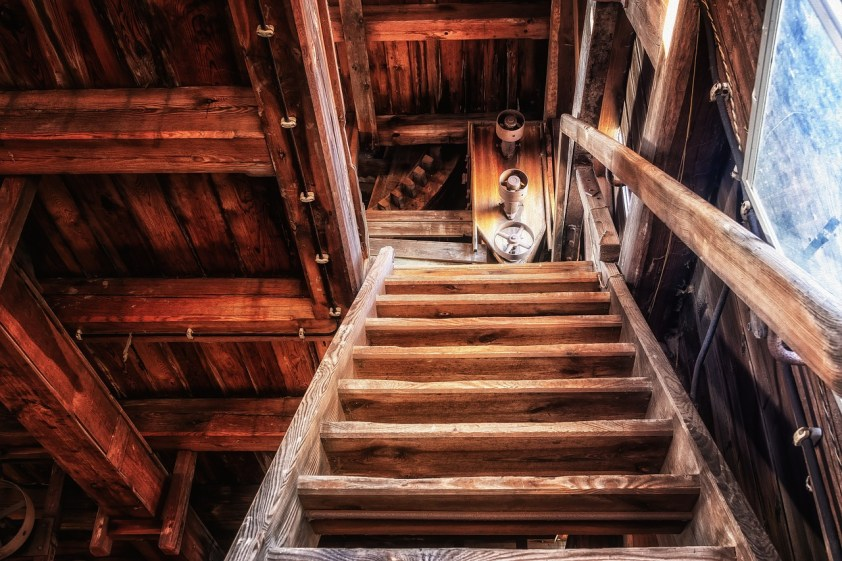 Escalier-en-bois