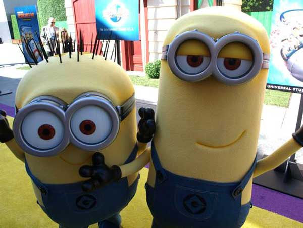 Minions Universal Studio Hollywood