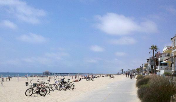 South Bay Bicycle Trail LA