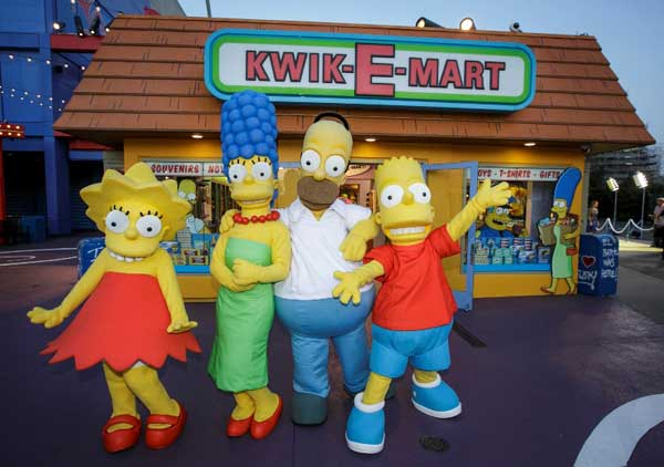 The Simpsons Universal Studios