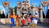 Disneyland i Los Angeles og Disney California Adventure Park