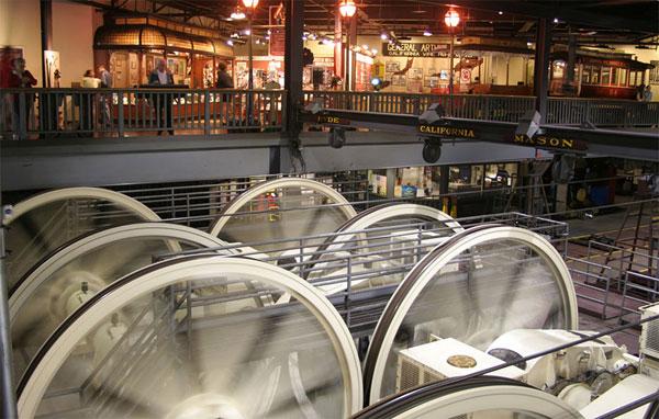 Kabelsporvognsmuseum San Francisco