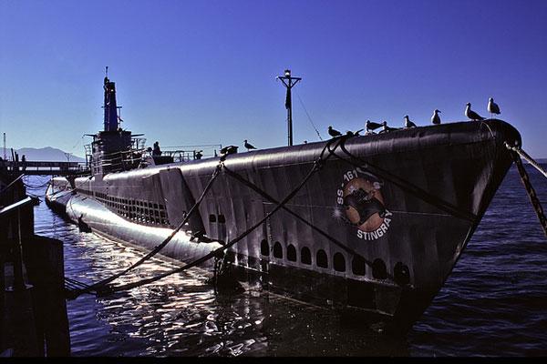 UUS Pampanito Pier 39