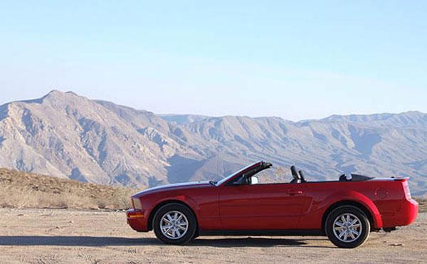 Billeje USA - Lej en Mustang