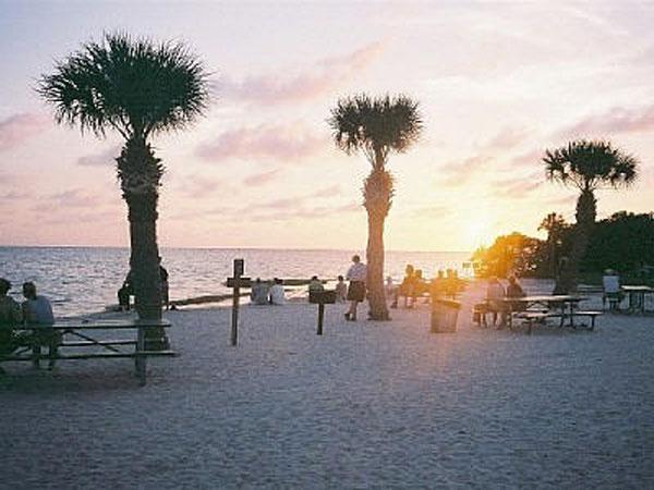 Florida solnedgang billede