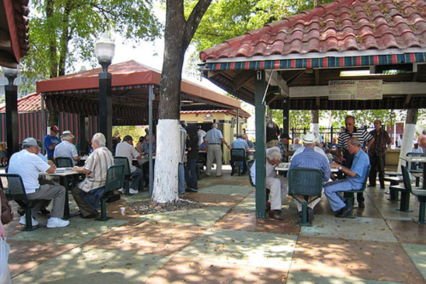 Little Havana Miami Maximo Gomez Park