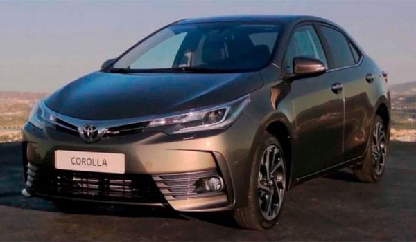 Toyota Corolla 2018 USA